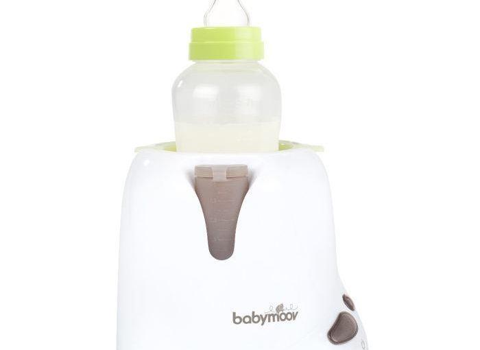 Le chauffe-biberon Babymoov, utilisable aussi à la maison et en voiture