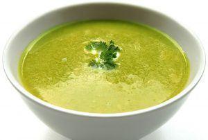 Une soupe pour bébé