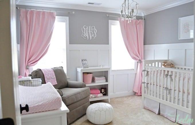 Décoration intérieure d'une chambre pour bébé